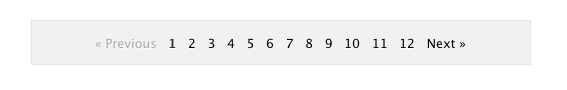 how to add pagination to a div